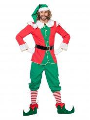 Déguisement lutin de Noël homme