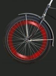 LED rouge pour rayons vélo 12.5cm