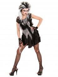 Déguisement punk zombie femme