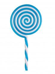 Sucette bleue en plastique 22,5 cm