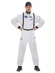 Costume astronaute adulte blanc et noir