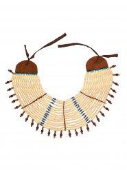 Collier indien femme beige