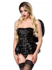 Déguisement ange gothique femme