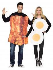 Déguisement oeuf et bacon pour couple