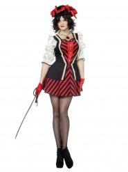 Déguisement robe pirate femme