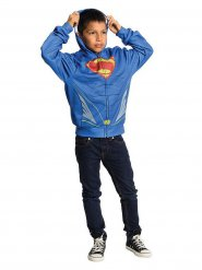 Sweet à capuche zippé DC Superman enfants