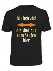 T-shirt slogan homme noir DE