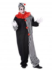 Déguisement clown Arlequin adulte