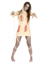 Déguisement momie sanglante femme Halloween