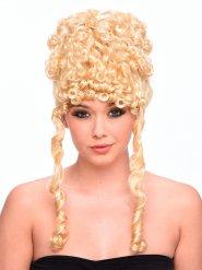 Perruque blonde bouclée déesse antique