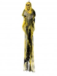 Faucheuse jaune Halloween 110 cm