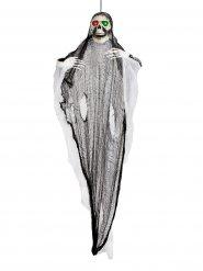 Décoration lumineuse fantôme squelette géante Halloween