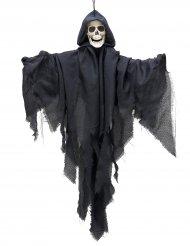 Décoration faucheuse noire à suspendre 90cm