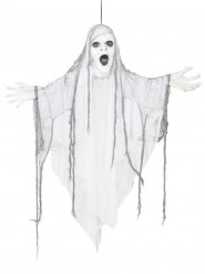 Suspension fantôme effrayant lumineux 110 cm