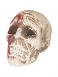 Crâne zombie Halloween 15 x 18 x 16 cm