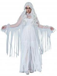 Déguisement fantôme de la dame blanche femme