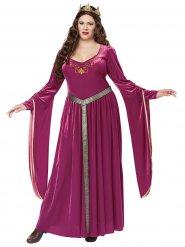 Déguisement princesse médiévale grande taille femme