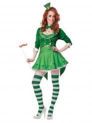 Déguisement Leprechaun porte bonheur Saint Patrick femme
