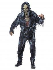 Déguisement zombie délavé gris homme