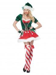 Déguisement elfe de Noël sexy femme