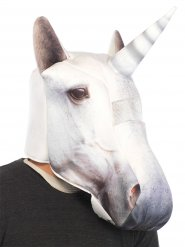 Masque licorne blanc