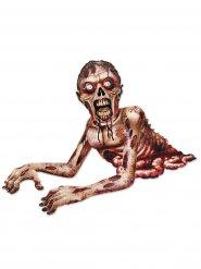 Décoration effrayante creepy zombie