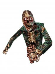 Figurine en carton effrayant zombie Halloween 86 cm