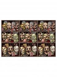 Film de décoration murale avec crânes monstrueux
