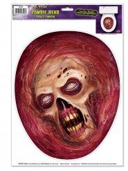 Stickers pour toilettes Zombie Halloween