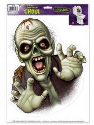Décoration Halloween autocollant monstre effrayant