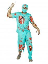 Déguisement docteur zombie homme Halloween