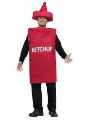 Déguisement tube de ketchup adulte