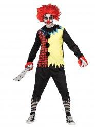 Costume clown Halloween homme