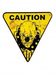 Décoration clown dangereux Halloween