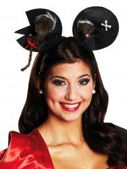 Serre-tête souris-zombie Halloween
