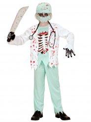 Déguisement docteur zombie enfant