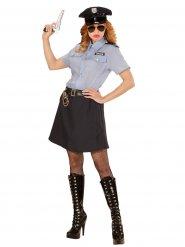 Déguisement policière grande taille femme