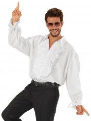 Déguisement pirate chemise jabot blanc homme