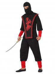 Déguisement de guerrier ninja homme