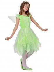 Déguisement de fée verte pour fille