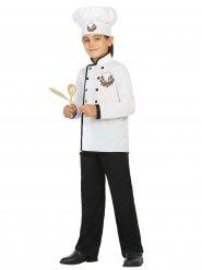 Déguisement chef cuisinier blanc enfant