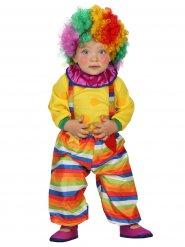 Déguisement bébé clown du cirque