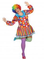 Déguisement de clown pour femme