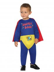Déguisement combinaison de super héros pour bébé