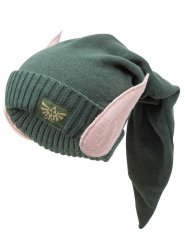 Zelda Beanie with Elf Ears Licensed Item green-skin