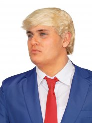 Perruque blonde homme d