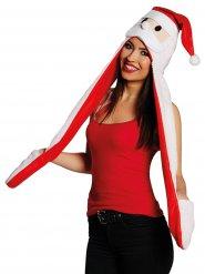 Bonnet père Noël avec écharpe et mitaines adulte