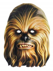 Masque carton Chewbacca Star Wars™