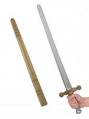 Epée chevalier médiéval adulte 80 cm