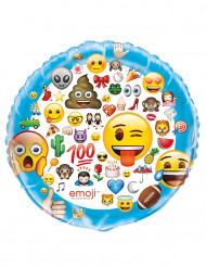 Ballon aluminium géant Emoji ™